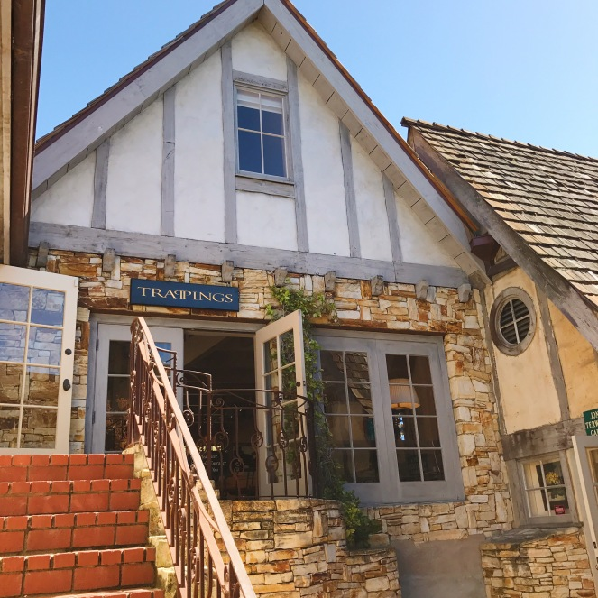 One of the shops in downtown Carmel-by-the-Sea