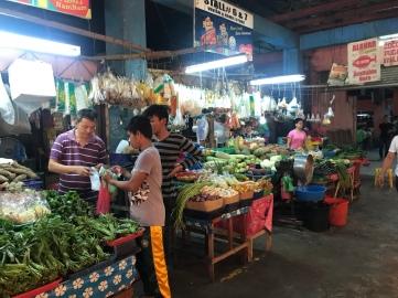 Veggies at the market